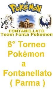 6° Torneo Pokémon a Fontanellato (PR)